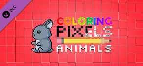 Coloring Pixels - Animals Pack