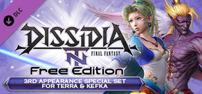 DFFNT: 3rd Appearance Special Set for Terra & Kefka