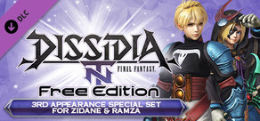 DFF NT: 3rd Appearance Special Set for Zidane & Ramza