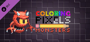 Coloring Pixels - Monsters Pack